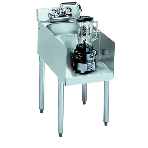 ... Metal 18 18BD Blender Station with Dump Sink 22 1 2 quot Dx33 quot H