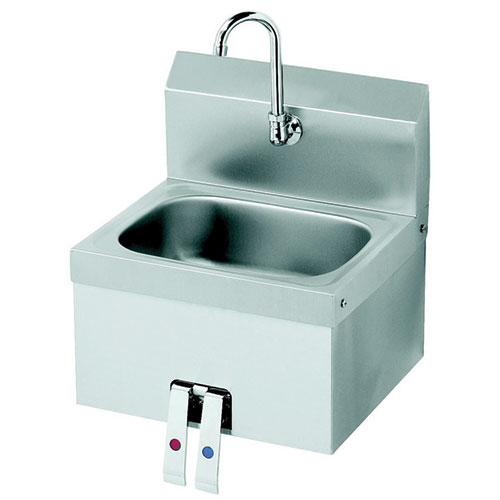 Hand Sink : Krowne Metal HS-15 Knee Operated Hand Sink