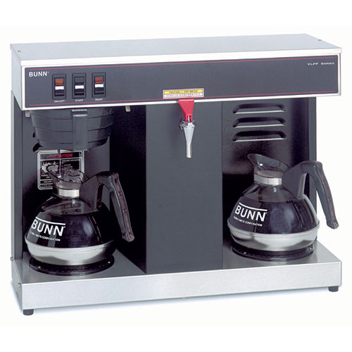 Bunn 07400-0005 Automatic Commercial Coffee Brewer with Hot Water Faucet