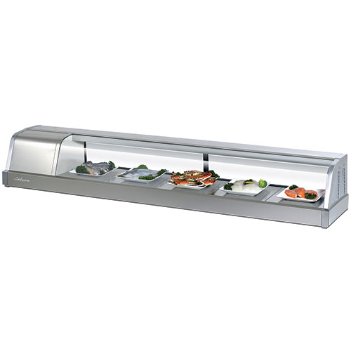 Countertop Refrigerated Display Case : Turbo Air SAKURA-60 Countertop Refrigerated Display Case 2.02 Cu. Ft ...