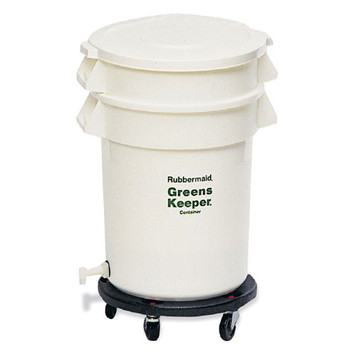 Rubbermaid FG263600WHT Rubbermaid GreensKeeper Container