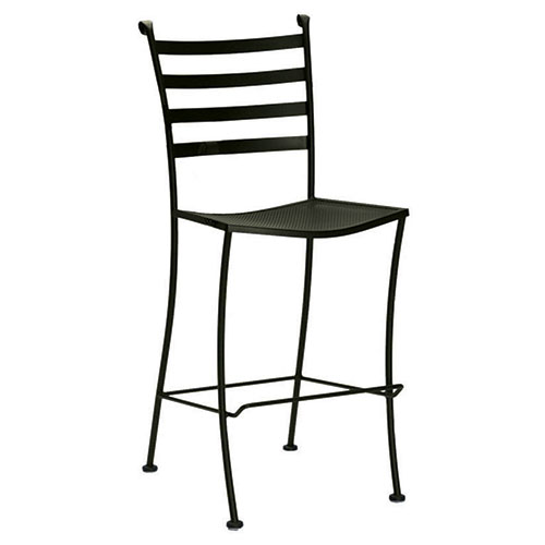 Waymar Wrought Iron Ladder Back Bar Stool 31quot Seat Height : 981 016 from www.centralrestaurant.com size 500 x 500 jpeg 17kB