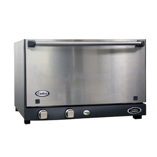 Countertop Oven Size : Cadco OV013SS Electric Countertop Convection Oven, Half Size