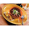 """Syracuse China - Cantina Carved, Plate 11-1/4"""""""