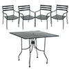 "Tremont Outdoor Chair and 36"" Table Set"