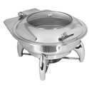 Round Chafer with Stand