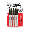 Sharpie 134000 - Permanent Marker, 5pk Black