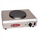 "Electric Countertop Range - One 7-1/2"" Diam. Burner"