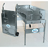"""Space Saver Charcoal Grill 36""""W or 60""""W"""