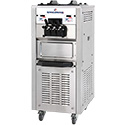 Spaceman USA 6250AH Mid Capacity, Floor-Standing Twin-Twist Soft-Serve Machine, Air Pump