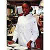Womens Chef Coat - White, Sizes Small to Large