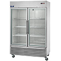 Arctic Air AGR49 Two Glass Door Reach-in Refrigerator