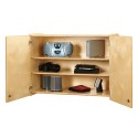 Jonti-Craft 0945JC Lockable Wall Cabinet