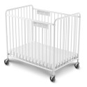 """Foundations 2031097 Chelsea Crib, Slatted 4"""" Casters"""