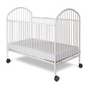 """Foundations 1321097 Classico Full-Size Crib, Slatted, 2"""" Casters"""