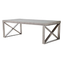 Zuo Modern 100202 Paragon Coffee Table, Cement
