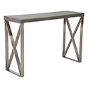Zuo Modern 100203 Paragon Console Table, Cement