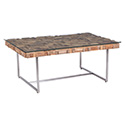 Zuo Modern 100258 Collage Coffee Table, Natural