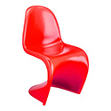 Zuo Modern 103184 S Dining Chair, Red