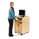 Jonti-Craft 1084JC Mobile Technology Stand - Deluxe