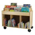 Whitney Brothers WB0383 Mobile Book Storage Island