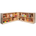 Whitney Brothers WB0552 Toddler 24-inch Fold & Roll Storage