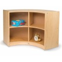 Whitney Brothers WB0651 Curved Storage: Back Curve Out