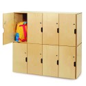 Whitney Brothers WB0716 Backpack Storage with Locking Doors