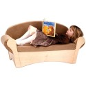 Whitney Brothers WB0850 Child's Easy Sofa - Tan