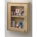Whitney Brothers WB1425 Lockable Medicine/First Aid Wall Cabinet