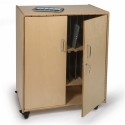 Whitney Brothers WB1458 Tablet Storage Cabinet