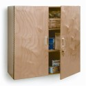 Whitney Brothers WB3535 Lockable Wall Cabinet