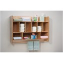 Whitney Brothers WB4646 NewWave Hang On The Wall Diaper Unit