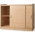 Whitney Brothers WB9698 Sliding Doors Storage Cabinet