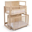Whitney Brothers WB9920 Space Saver Two Level Crib