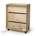 Whitney Brothers WB1458P Tablet Security Cabinet With Desktop Image