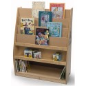 Whitney Brothers WB7488P Book Lovers Book Display