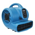 XPOWER P-400 BLUE 1/4 HP, 1600 CFM, 3.0A, 3 Speeds, 4 Positions Air Mover (PP)