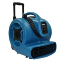 XPOWER X-830H 1HP Air Mover w/ Telescopic Handle and Wheels