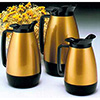 Hot Drink Servers - Thermo-Serv 33.8 oz., Gold/Black