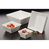 "Square Melamine Serving Bowl - 5""Wx5""D"