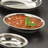 Stainless Steel Oval Sauce Cup - 2-1/2 oz. Capacity