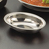Stainless Steel Oval Sauce Cup - 4 oz. Capacity