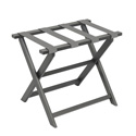 Dark Grey ECO Luggage Rack with 4 Silver Nylon Straps