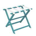 Aqua ECO Luggage Rack with 4 White Nylon Straps