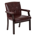 Office Star Products TV233-JT4 Traditional Visitors Chair with Padded Arms