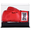 Luxe West ALI00254 Signed Muhammad Ali Boxing Glove In Glass Case