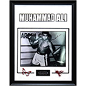 Luxe West LW121548 11X14 Signed B/W Training Photo By Muhammad Ali