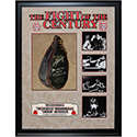 Luxe West LWMS6806 Rare, Vintage Speedbag Signed By 'Smokin' Joe Frazier And Muhammad Ali