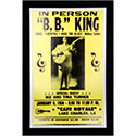 Luxe West RCP00026 B.B. King Concert Retro Music Poster